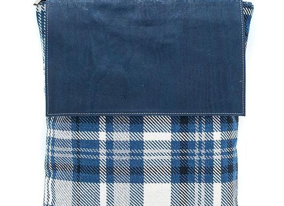 Sleek Cork and Cotton Backpack