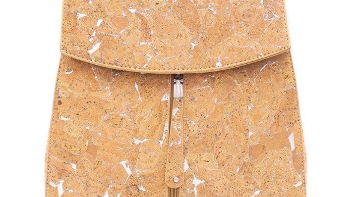 Natural Cork Back Pack Bag