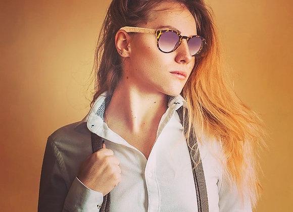 Cork sunglasses UV protection Eyewear L