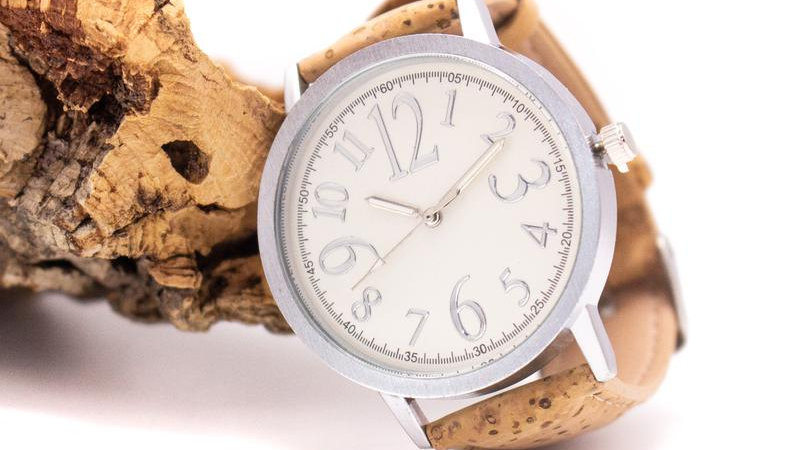 Unisex Aveiro Cork Watch