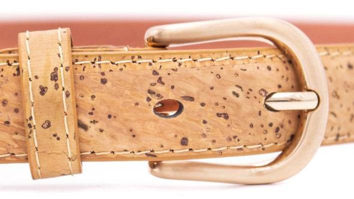 Mens Natural Cork Belt