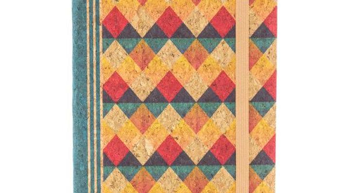 Patterned Cork Notepad