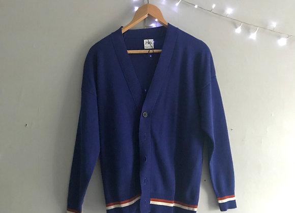 Zara cardigan (blue)