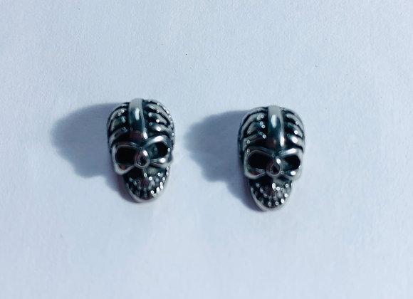 Stainless Steel Skull Earring