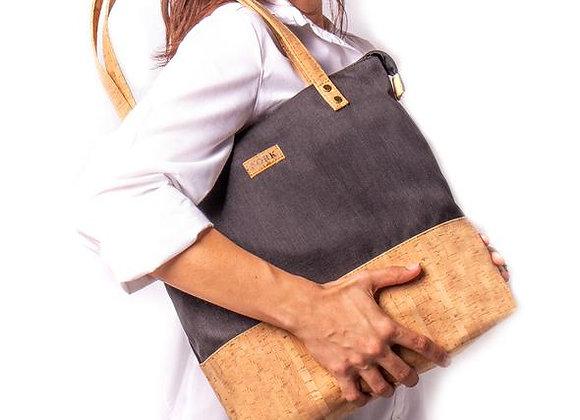 Natural Cork Lg Tote Bag
