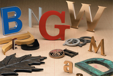 Cut-Out Letters