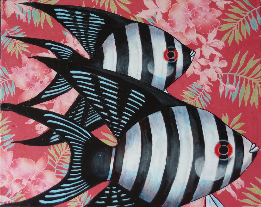 FLORAL REEF ANGELFISH