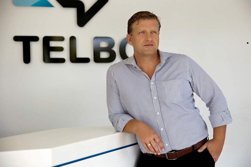 Managing Director of TELBO Bonaire Gilbert de Bree