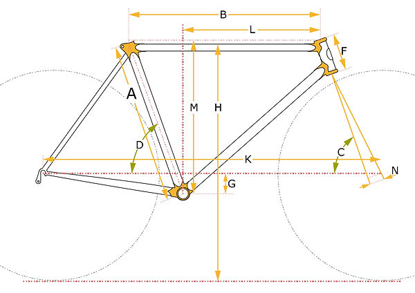 Yasujiro bike geometry