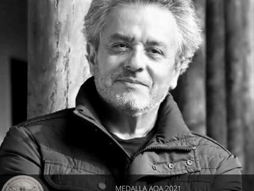 José Rosas, Medalla AOA a la Trayectoria Académica 2021: Palabras de agradecimiento