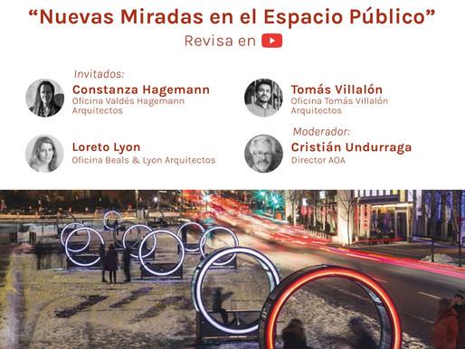 Diálogos AOA: Arquitectos jóvenes debaten sobre espacio público, concursos y crisis social