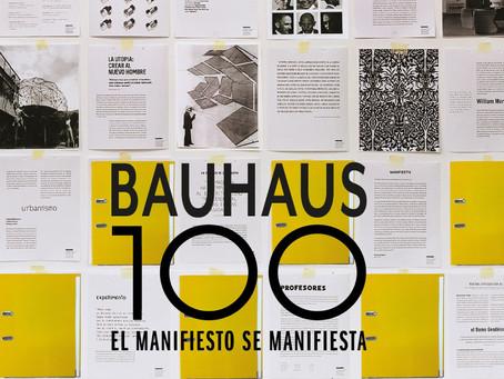Bauhaus 100. El manifiesto se manifiesta