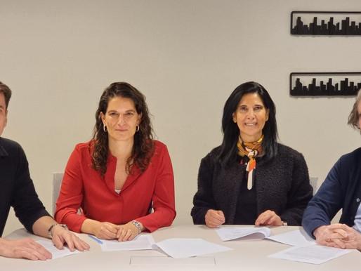 AOA y Constructo firman acuerdo para crear el Centro para la Arquitectura