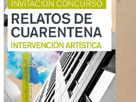 NUEVA FECHA Concurso - Relatos de cuarentena, Intervención artística