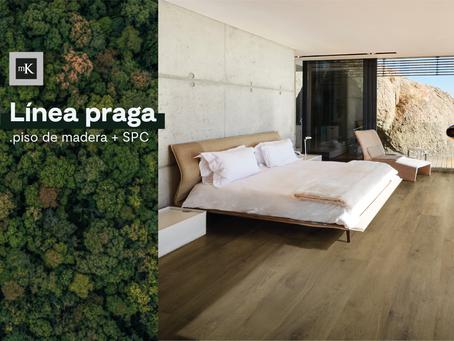 MK - Línea Praga el mejor piso de madera para tu casa