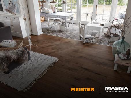 Masisa trae los pisos Meister para darle un nuevo aire a tus proyectos