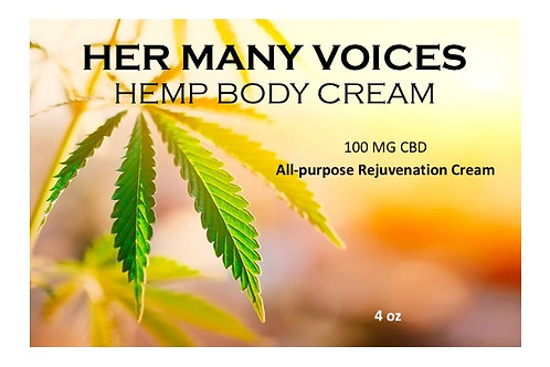 Body Cream, 100mg CBD