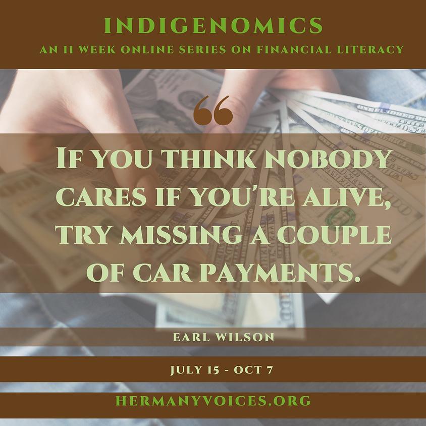 Week 4: Indigenomics: Reducing Debt