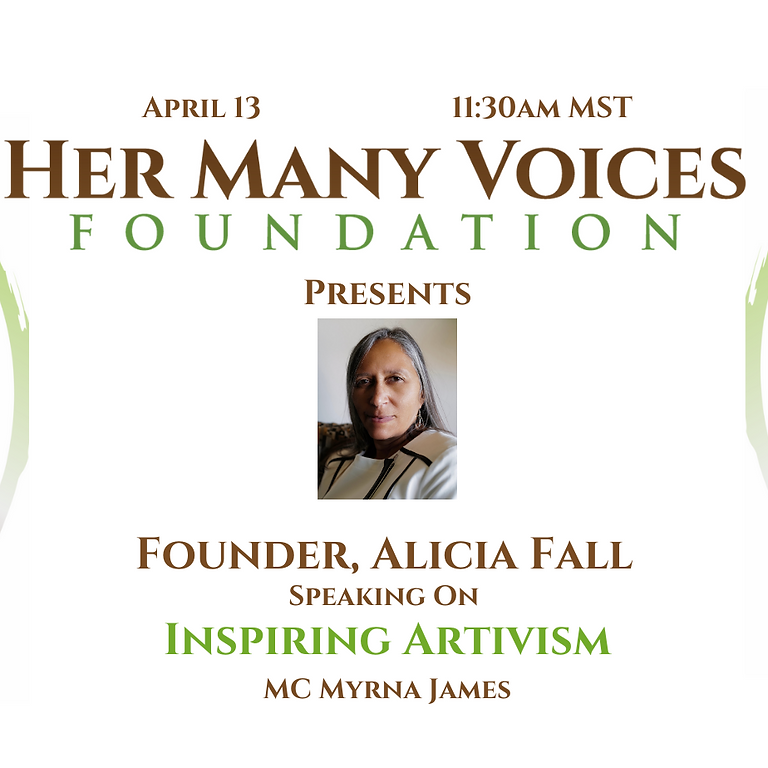 Inspiring Artivism - the founding of Her Many Voices Foundation