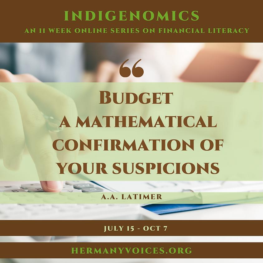 Week 3: Indigenomics: Cash Flow
