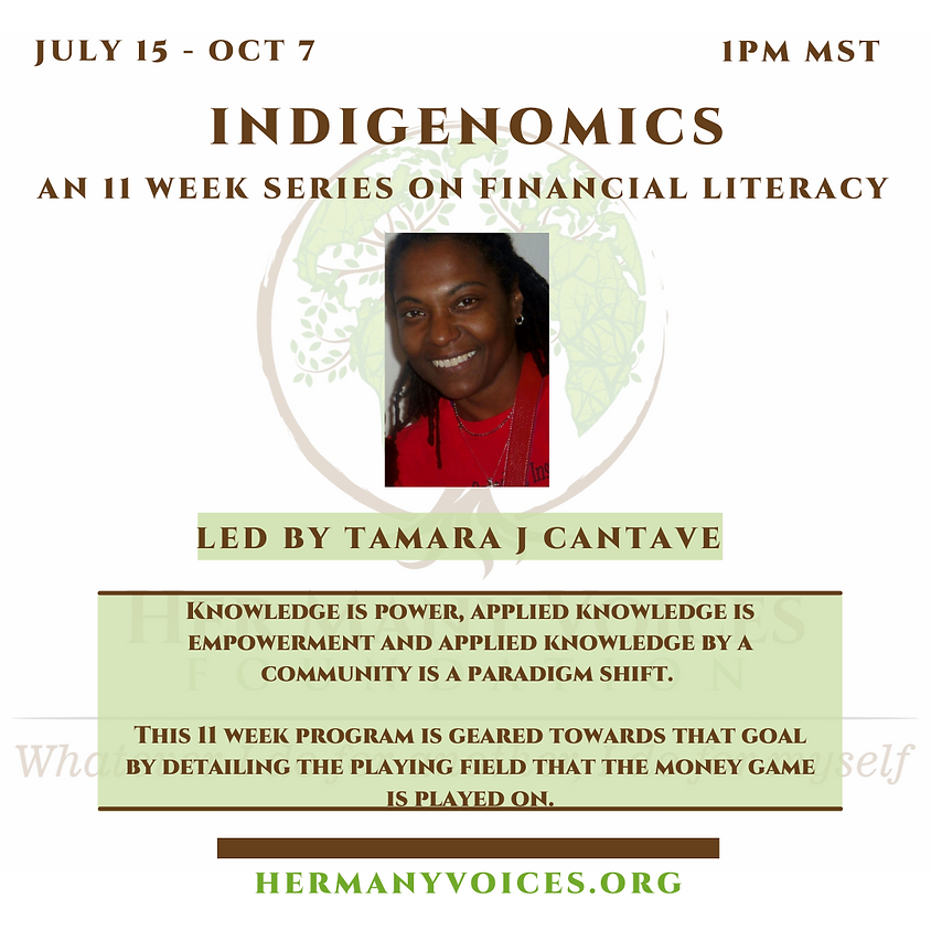 Week 1: Indigenomics: The Law of the Universe
