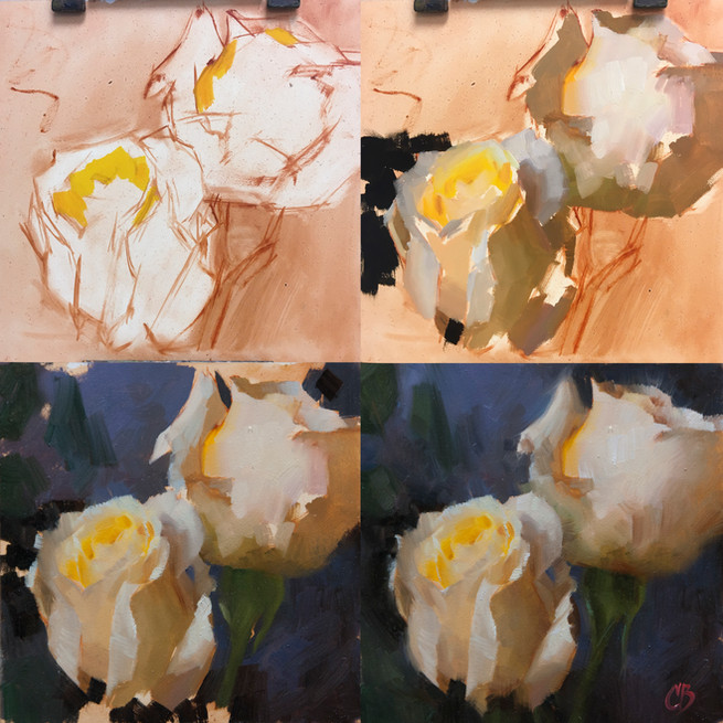 White Rose Step by Step
