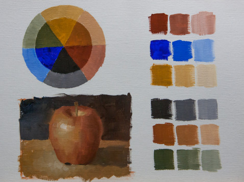 Limited color palette demo