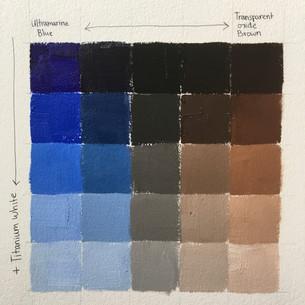 Color chart demo