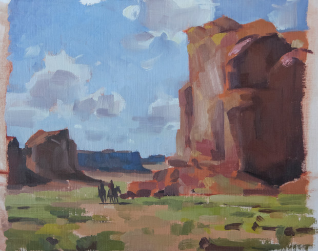 Edgar Payne master study demo