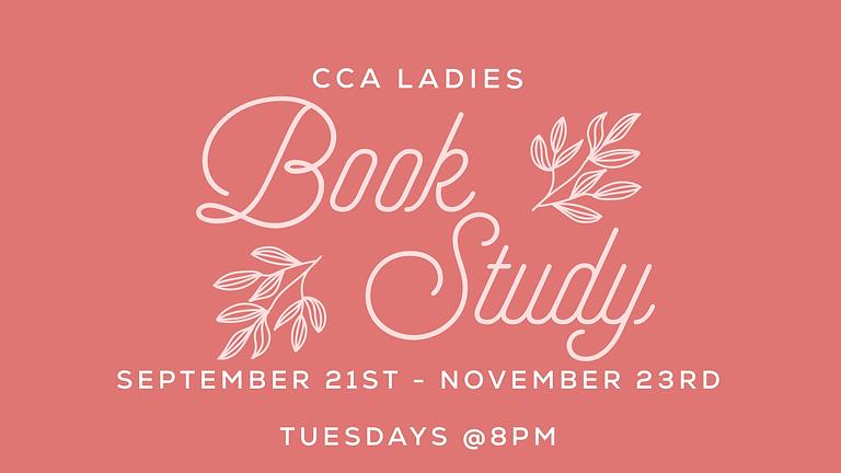 CCA Ladies Book Study
