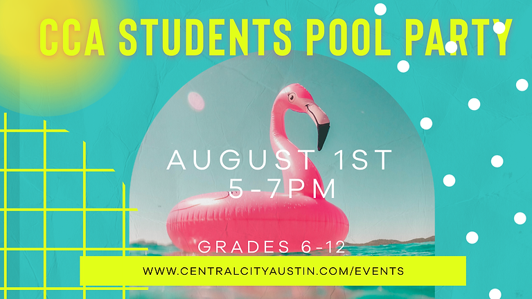 CCA Students Pool Party