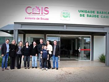 Serginho participa da inauguração do novo 'Cais' no Moradias Timbú
