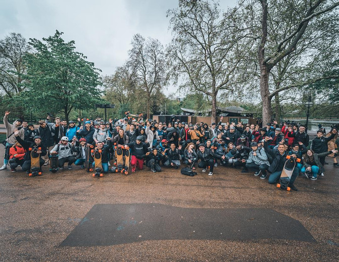 Boosted Boards, UK