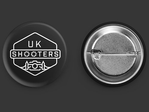 UKS Round Pin Badge