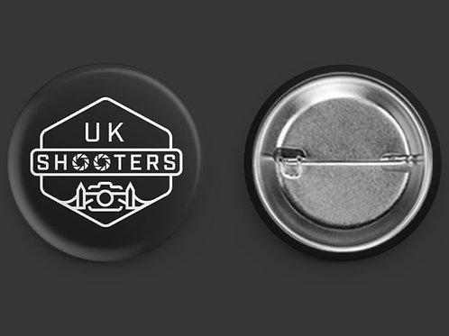 UKS Round Pin Badge