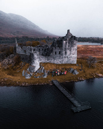 Kilchurn Castle, UK