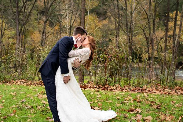 Crisp Mountain Autumn Wedding in Everett, PA