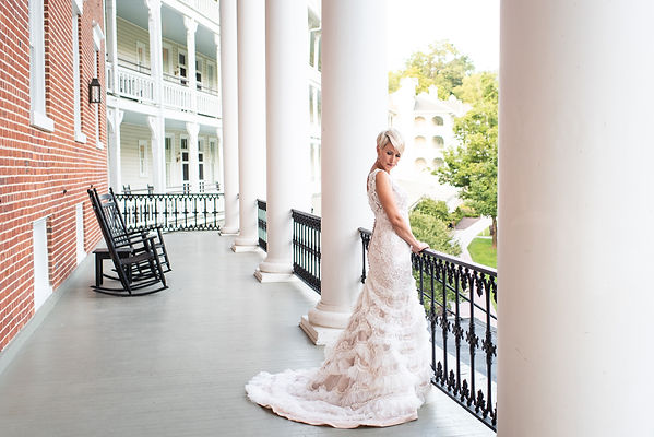 Stunning Bridal Portrait and the Omni Bedford Springs in Pennsylvania