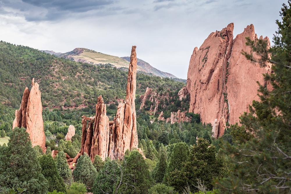 Garden of the Gods, Colorado, Red Rocks, LaurMar Photo