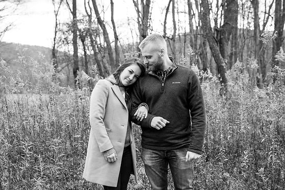 Rural Mountain Engagement Session in Pennsylvania