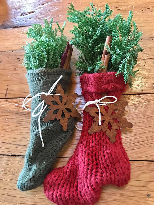 Knit Decorative Stockings