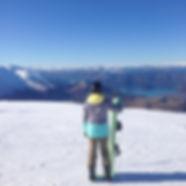 Snowboarding in New Zealand