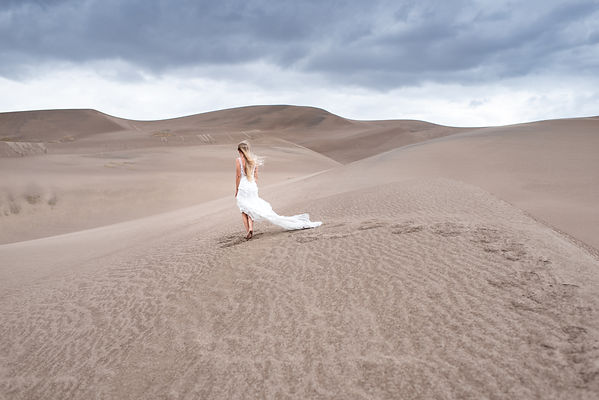 Epic Colorado Bridal Session at Great Sand Dunes National Park