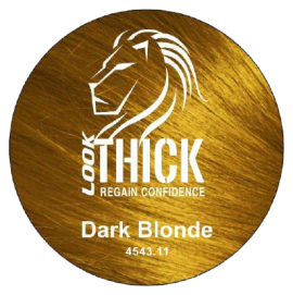 Dark Blonde Hair Fibers