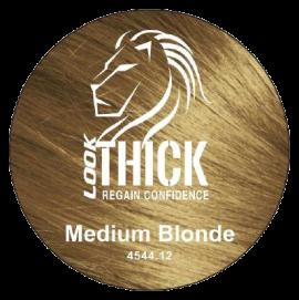 Medium Blonde Hair Fibers