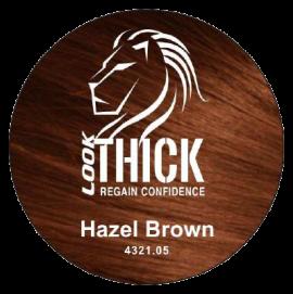 Hazel Brown Hair Fibers