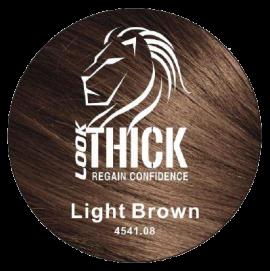 Light Brown Hair Fibers