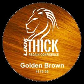 Golden Brown Hair Fibers