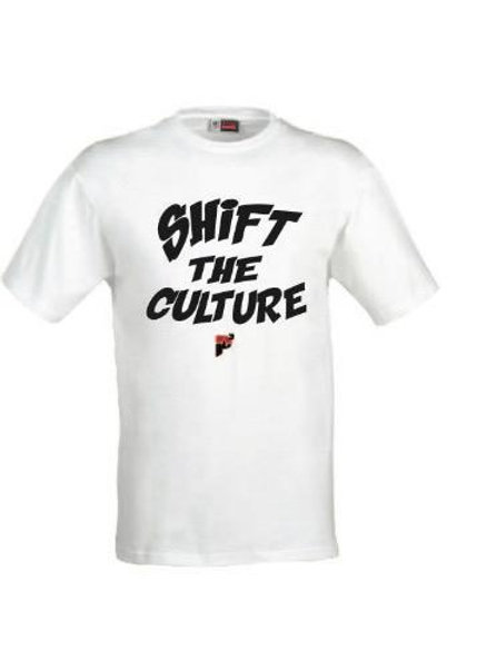 "P3 ""Shift The Culture""t-shirt"
