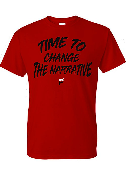 "P3 ""Time To Change The Narrative"" T-shirt"